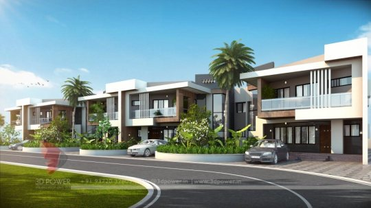 3d architectural rendering services township design
