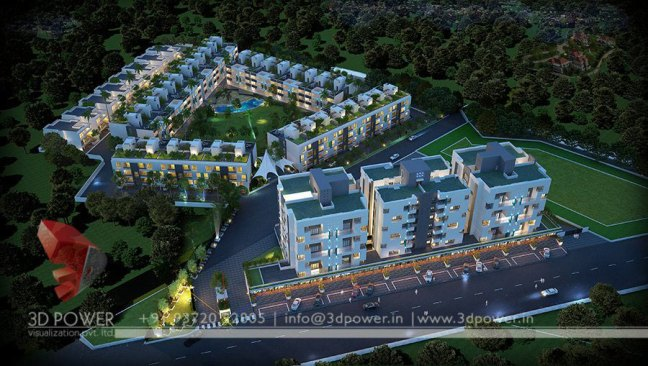 architectural rendering service township models